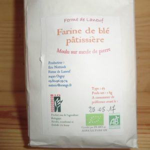 Farine de blé pâtissière