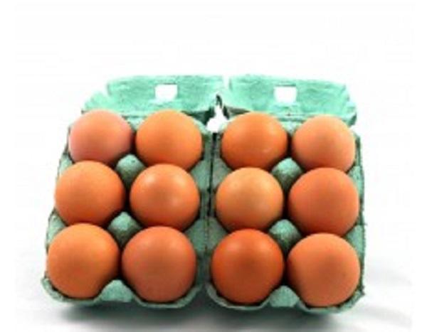 12 gros œufs