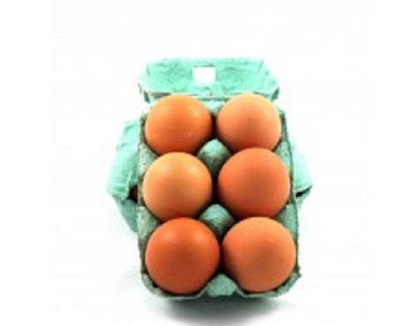 6 gros œufs