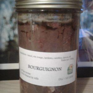 Bœuf bourguignon bocal