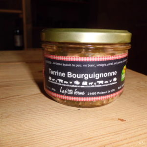 Terrine bourguignonne bocal