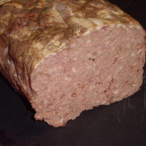 Terrine au foie de porc
